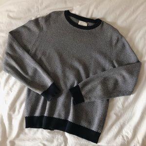 Saturdays New York City Oversized Chevron Sweater